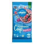 Davert Bio Porridge-Cup Dinkel-Waldbeere 60g