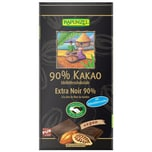 Rapunzel Bio Bitterschokolade 90% Kakao mit Kokosblütenzucker 80g