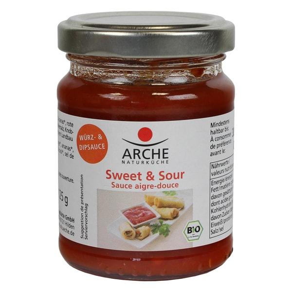Arche Bio Sweet & Sour Würz- und Dipsauce 125g
