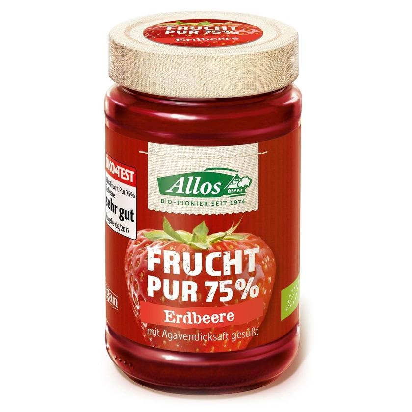 Allos Bio Frucht pur Erdbeere, 250 g