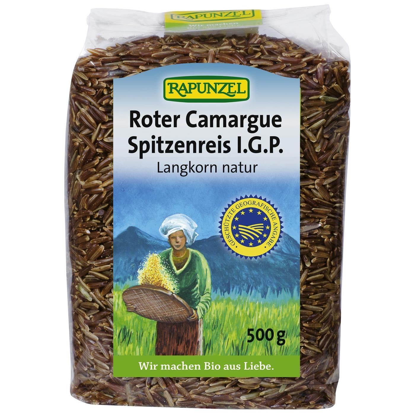 Rapunzel Bio Roter Camargue Spitzenreis natur I.G.P. 500g