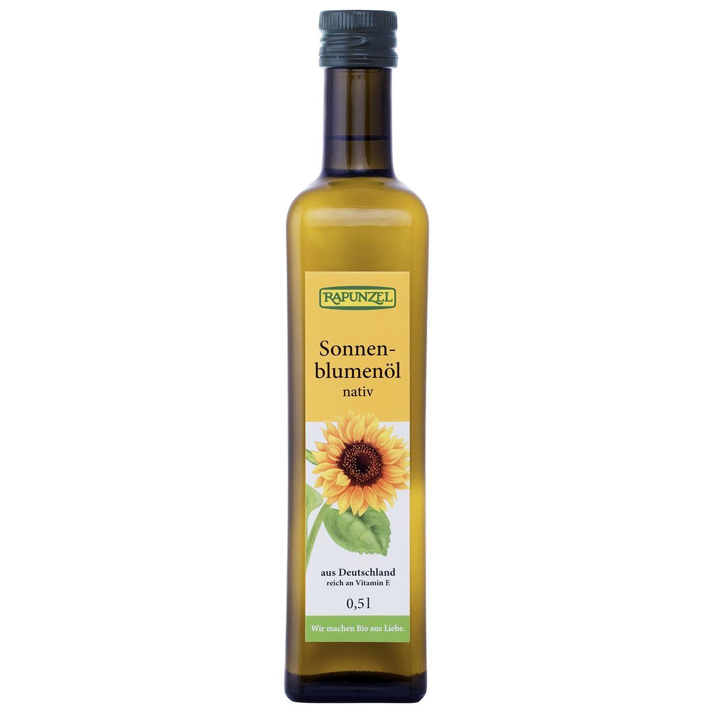 Rapunzel Bio Sonnenblumenöl nativ 0,5l