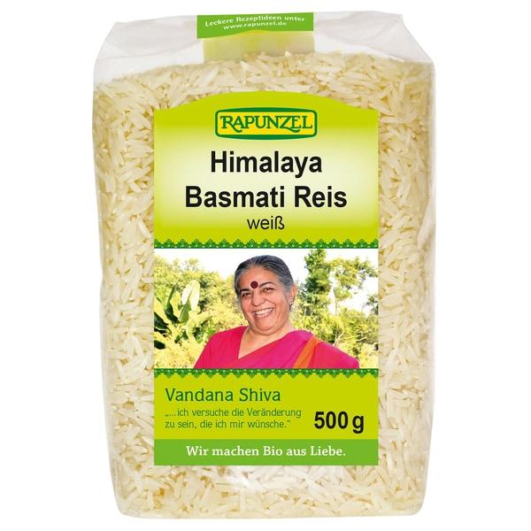 Rapunzel Bio Basmati Reis Vandana Shiva weiß 500g