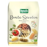 Byodo Bio Bunte Spiralen Pasta Superiore semola 500g