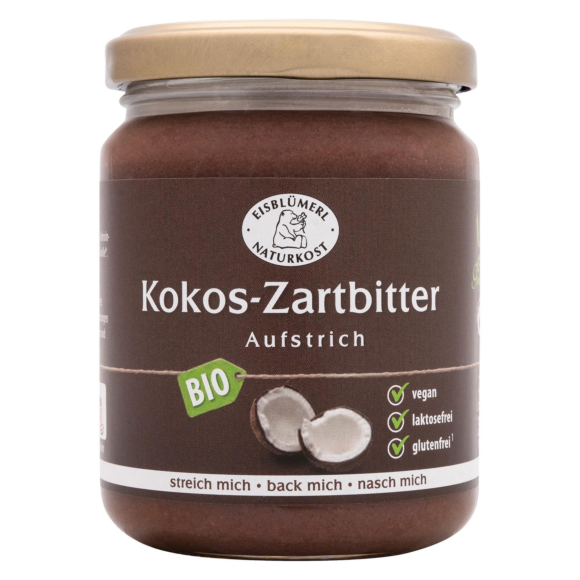 Eisblümerl Bio Zartbitter Aufstrich Kokos 250g