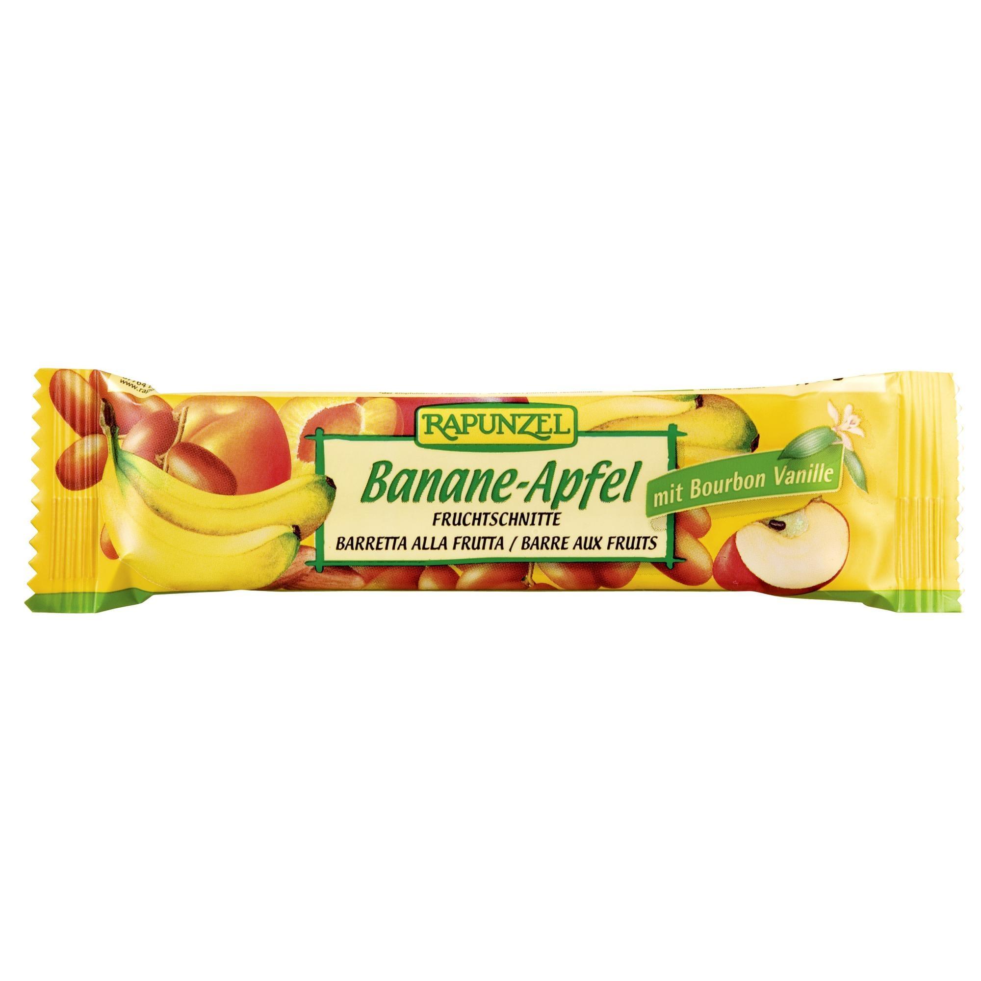 Rapunzel Bio Fruchtschnitte Banane-Apfel 40g