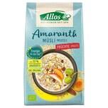 Allos Bio Amaranth Früchte Müsli 375g