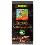 Rapunzel Bio Zartbitter Schokolade mit Espresso-Splittern 51% 80g