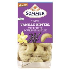 Sommer Bio Dinkel Vanille Kipferl 150 g