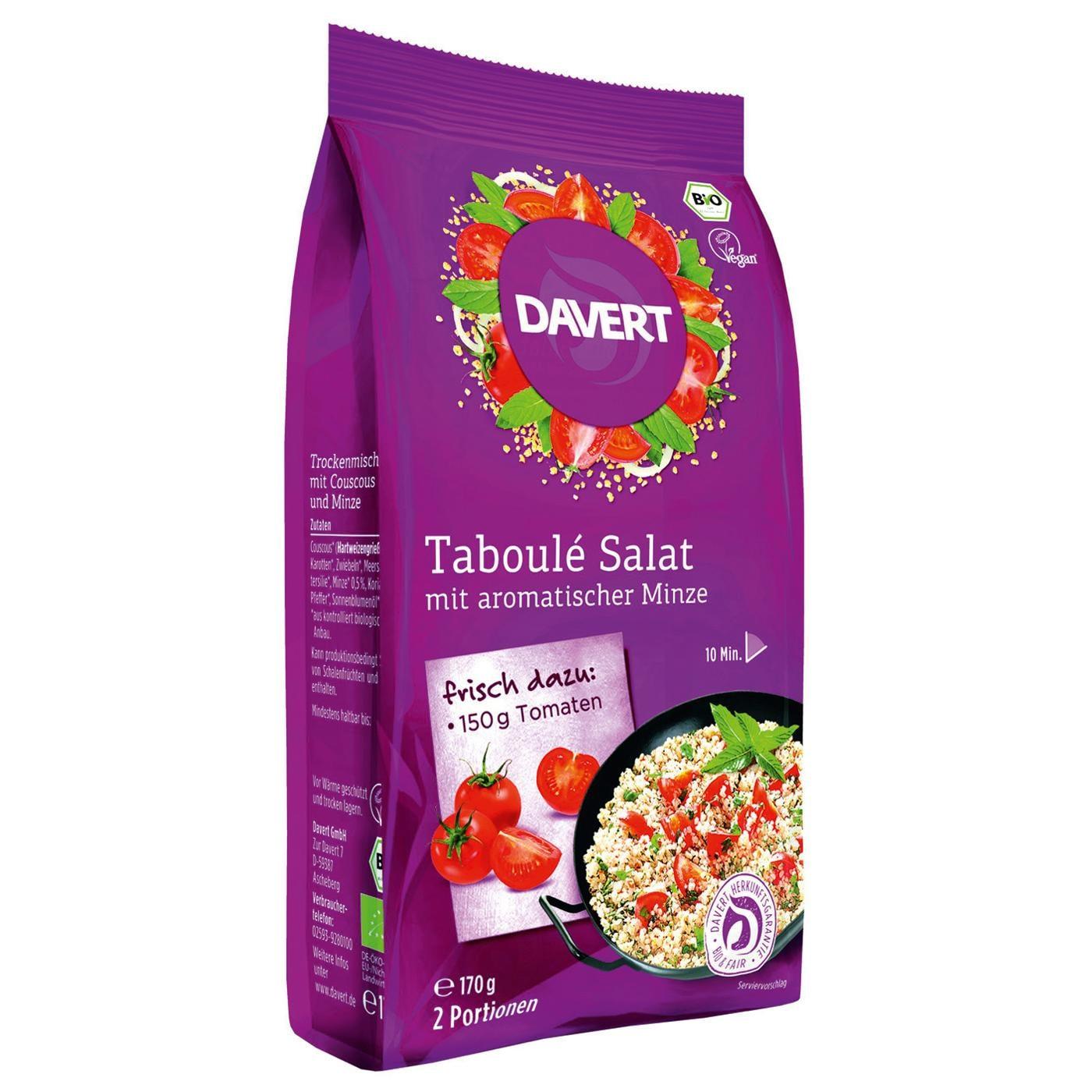 Davert Bio Taboulé Salat 170g