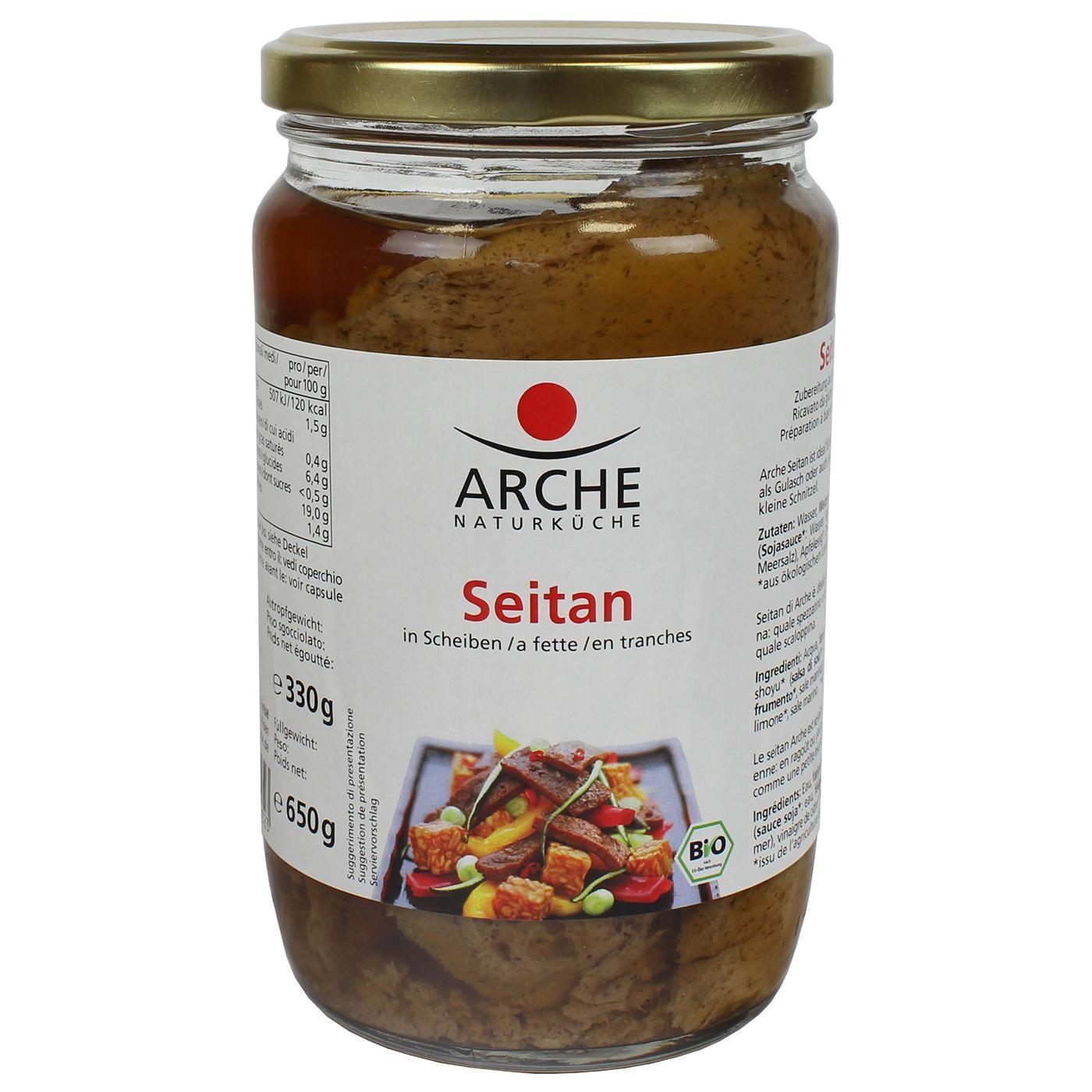 Arche Bio Seitan in Scheiben 650g