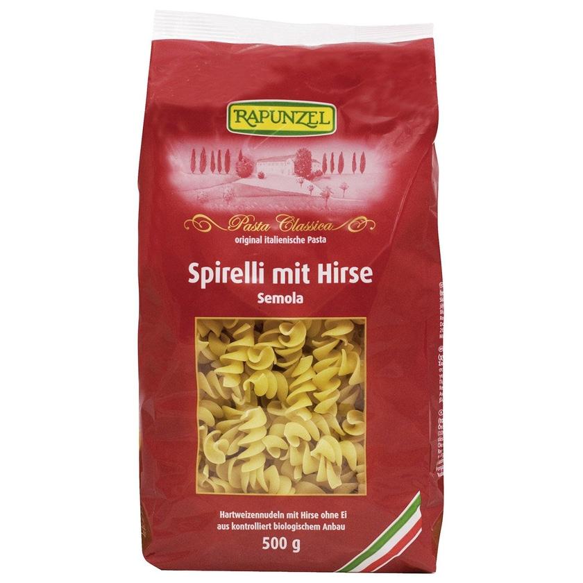 Rapunzel Bio Spirelli mit Hirse Semola 500g