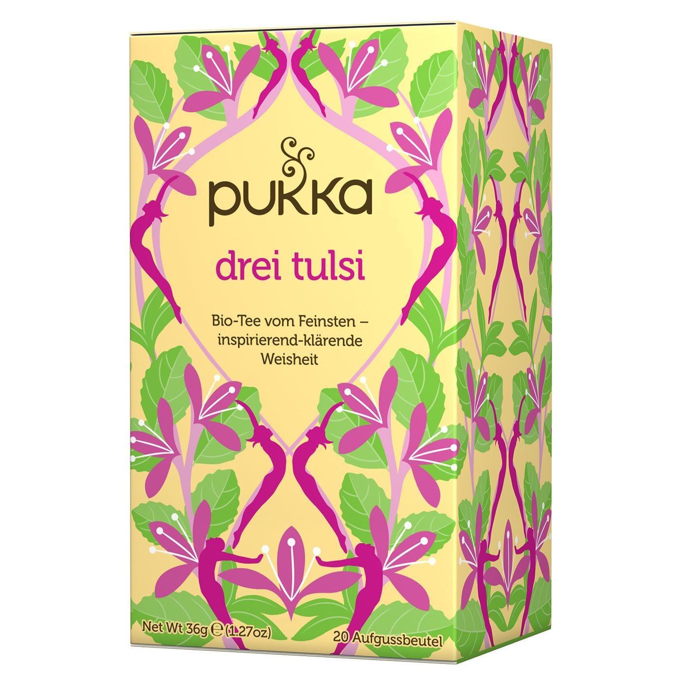 Pukka Herbs Bio Drei Tulsi Teemischung 36g