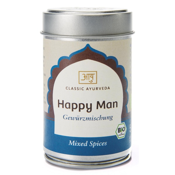 Classic Ayurveda Bio Happy Man Gewürzmischung 50g