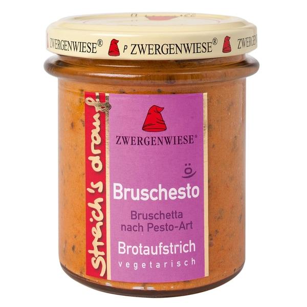 Zwergenwiese Bio Bruschesto Bruschetta Pesto streich's drauf 160g