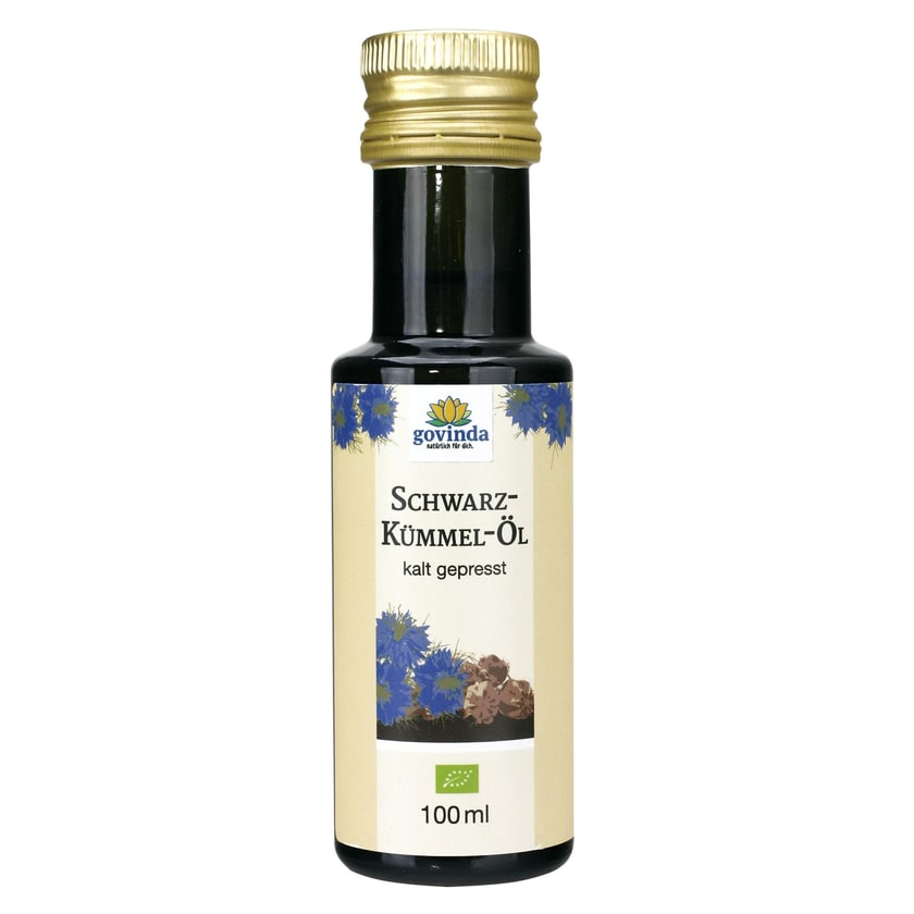 Govinda Bio Schwarzkümmel-Öl kalt gepresst 100ml