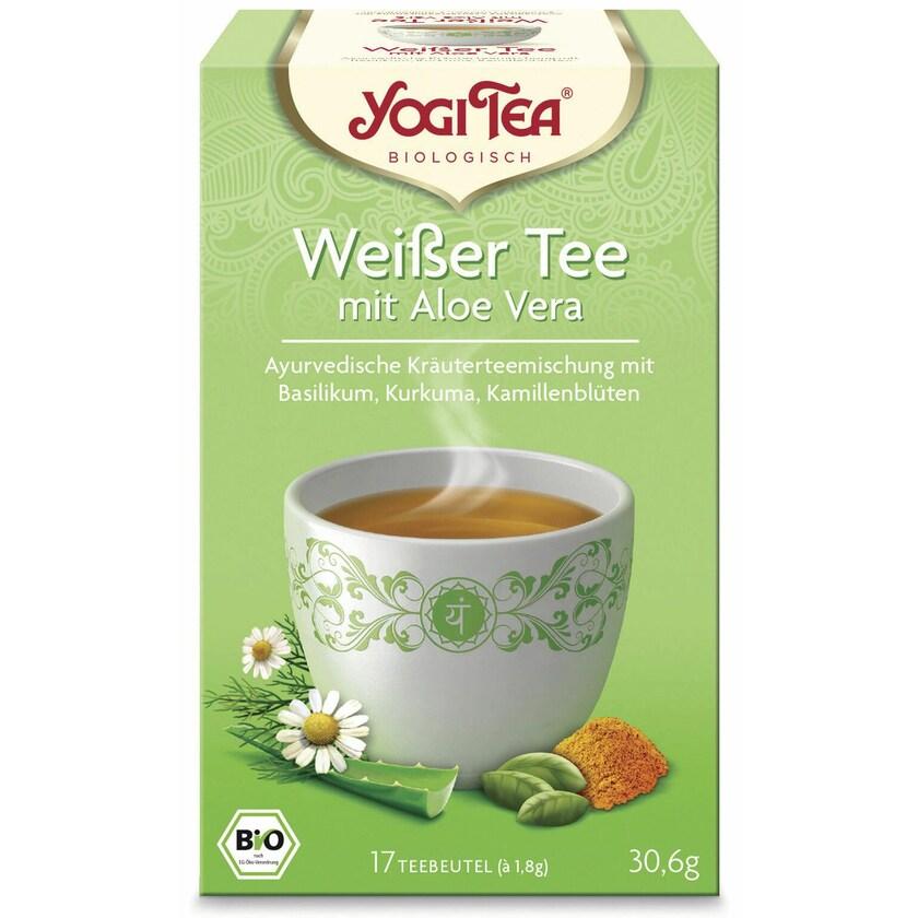 Yogi Tea Bio Weißer Tee mit Aloe Vera 30,6g