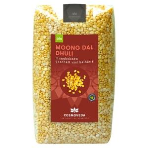 Cosmoveda Bio Mungbohnen gelb Mung-Dal 500g