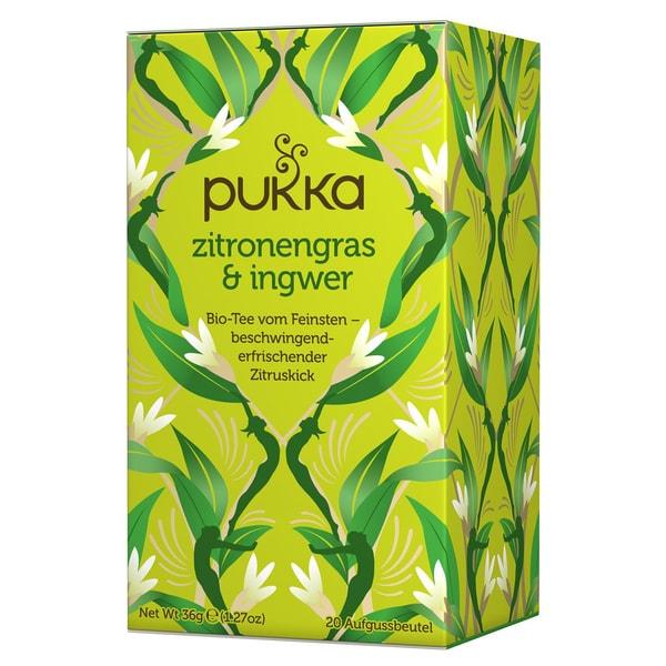 Pukka Herbs Bio Zitronengras & Ingwer Teemischung 36g