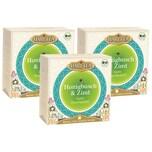 Hari Tea 3x Bio Honigbusch & Zimt Teemischung 60g
