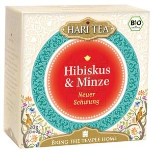 Hari Tea Bio Hibiskus & Minze Teemischung 20g
