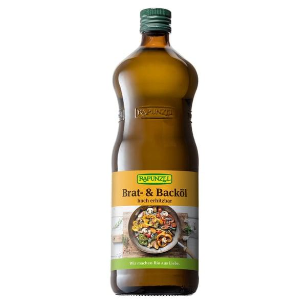 Rapunzel Bio Brat- und Backöl hoch erhitzbar 1l