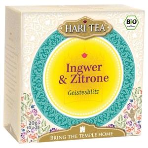 Hari Tea Bio Ingwer & Zitrone Teemischung 20g