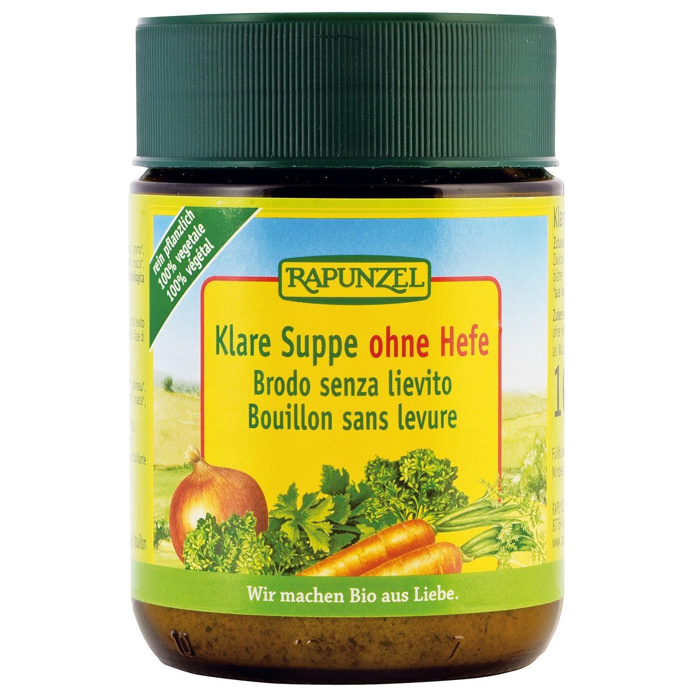 Rapunzel Bio Klare Suppe ohne Hefe 160g