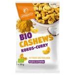 Landgarten Bio Cashews Kokos-Curry 50g