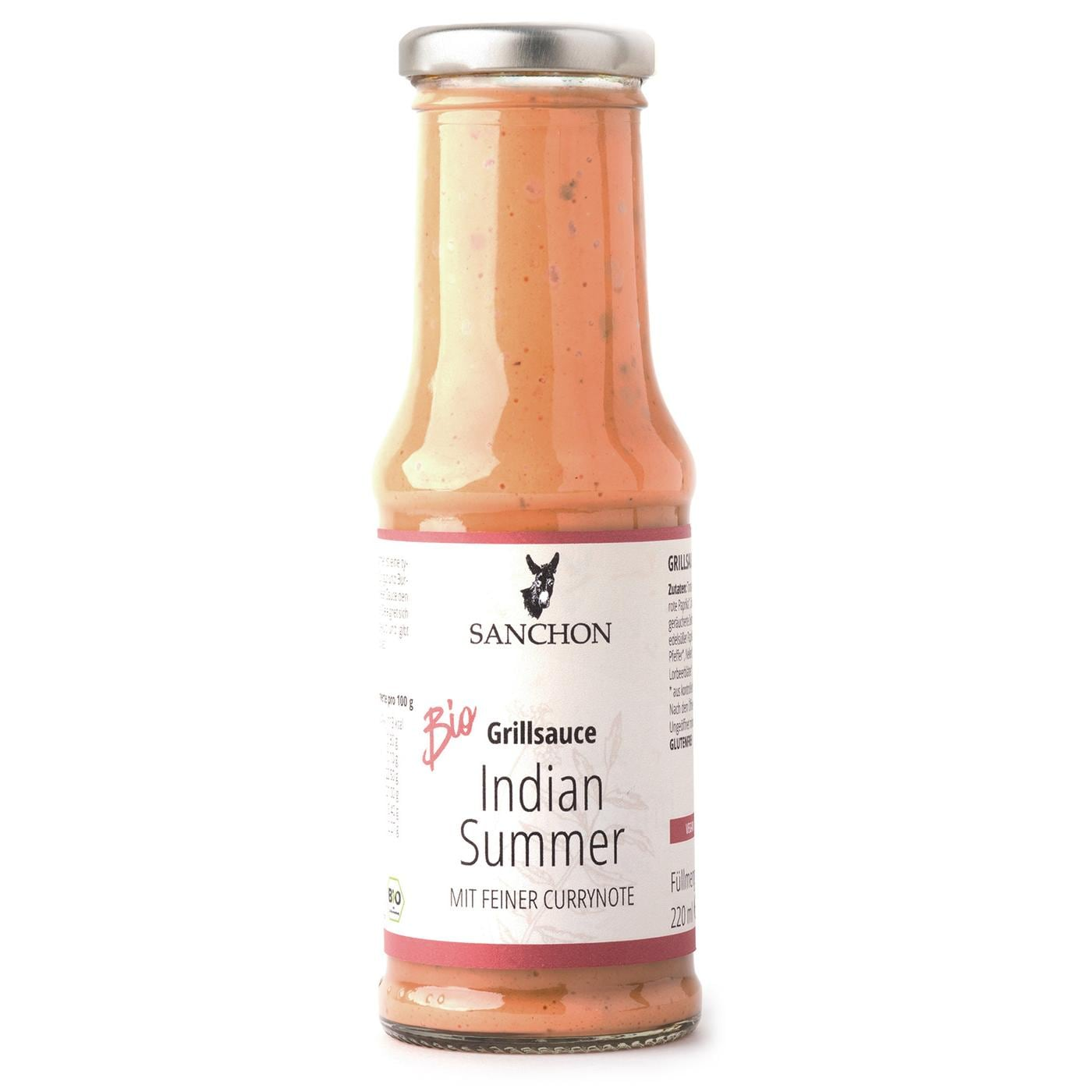 Sanchon Bio Grillsauce Indian Summer 220ml