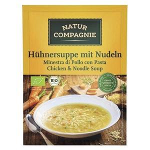 Natur Compagnie Bio Hühnersuppe mit Nudeln 40g