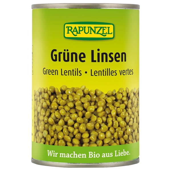 Rapunzel Bio Grüne Linsen 400g