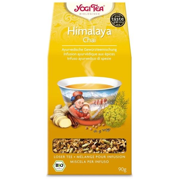 Yogi Tea Bio Himalaya Chai lose Teemischung 90g
