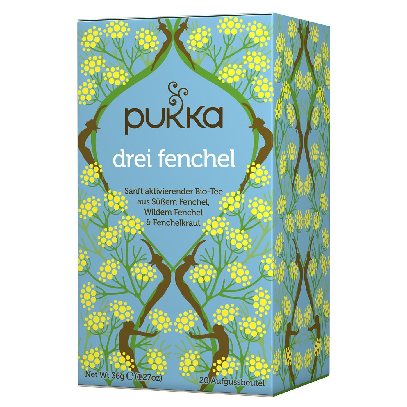 Pukka Herbs Bio Drei Fenchel Teemischung 36g
