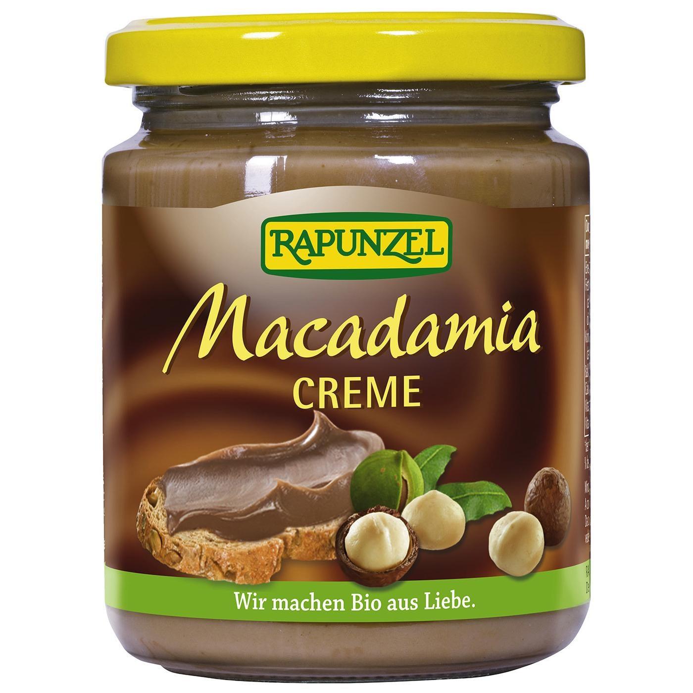 Rapunzel Bio Macadamia Creme 250g