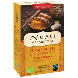 Numi Bio Turmeric Tea Three Roots 40,2g