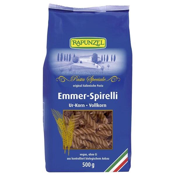 Rapunzel Bio Emmer-Spirelli Vollkorn 500g