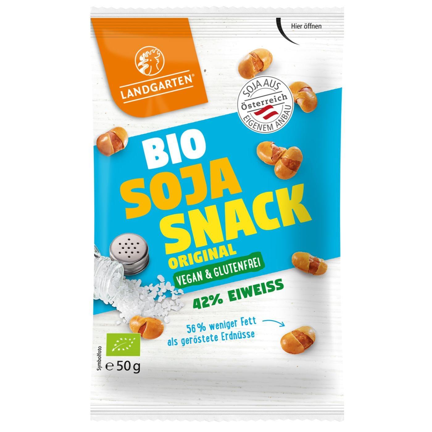 Landgarten Bio Soja Snack Original 50g