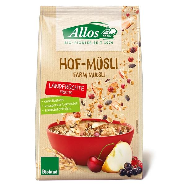 Allos Bio Hof-Müsli Landfrüchte 375g