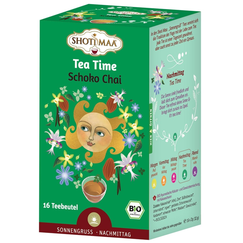 Hari Tea Bio Tea Time Teemischung 32g