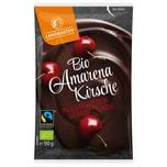 Landgarten Bio Amarenakirsche in Zartbitter-Schokolade 50g