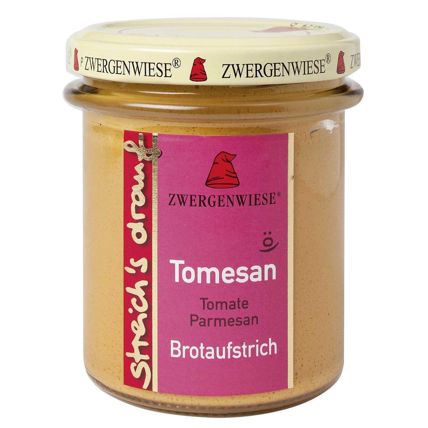 Zwergenwiese Bio Tomesan streich's drauf Tomate Parmesan 160g