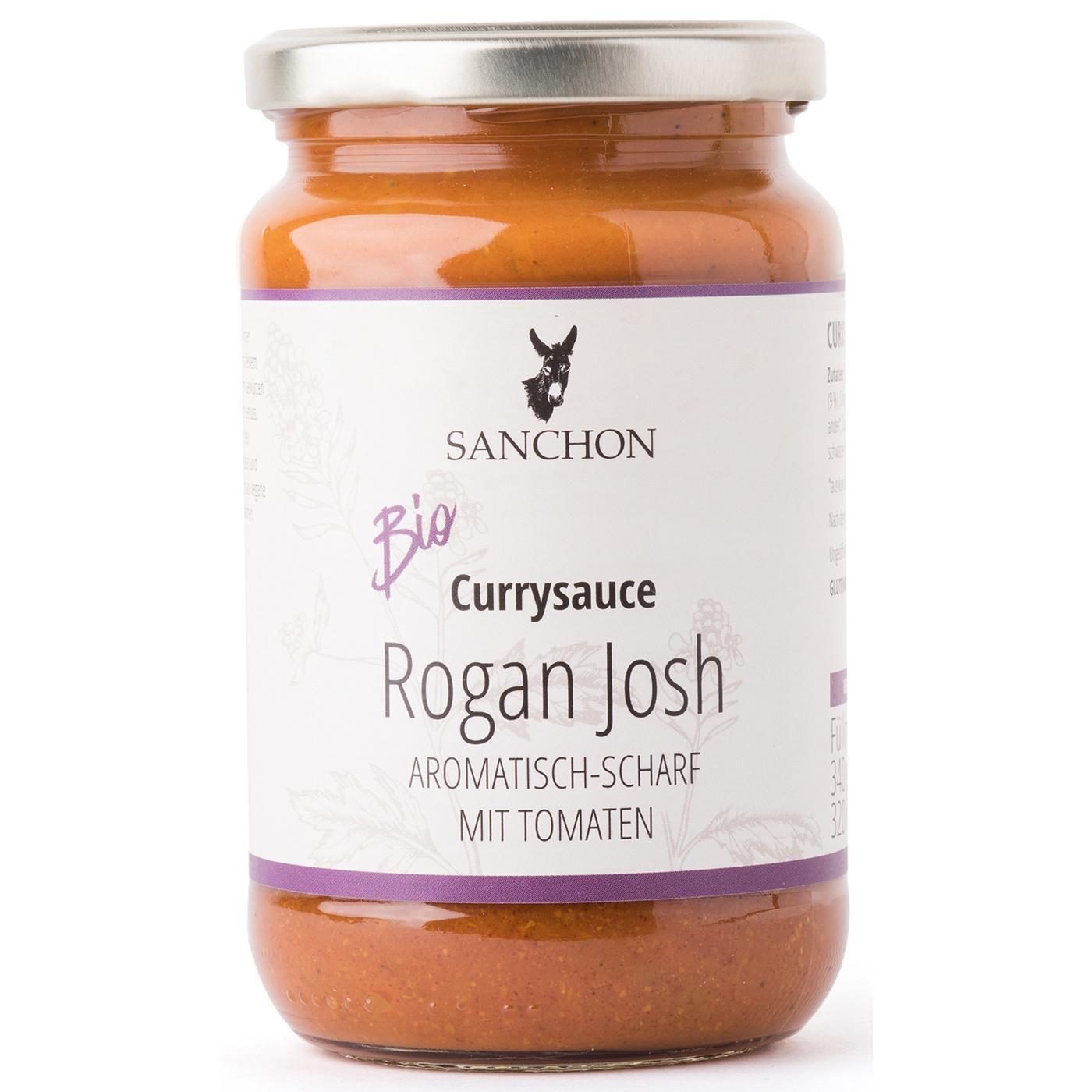 Sanchon Bio Currysauce Rogan Josh 320ml