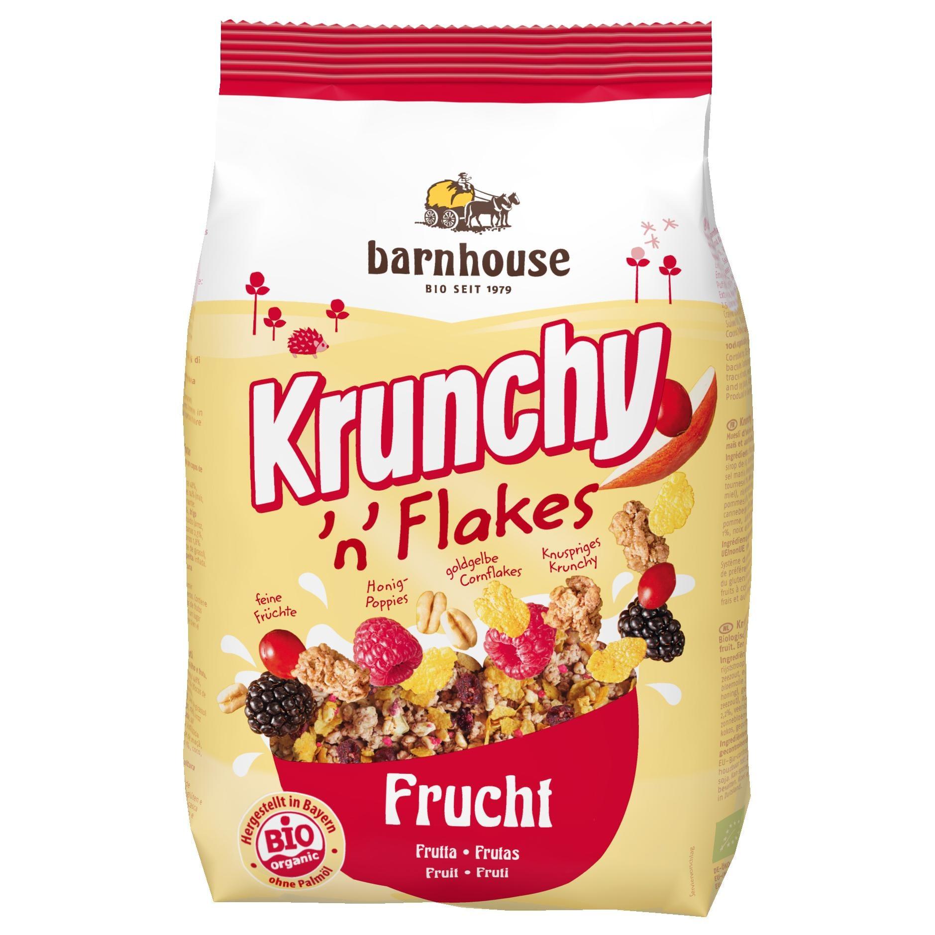 Barnhouse Bio Krunchy 'n' Flakes Frucht 375g