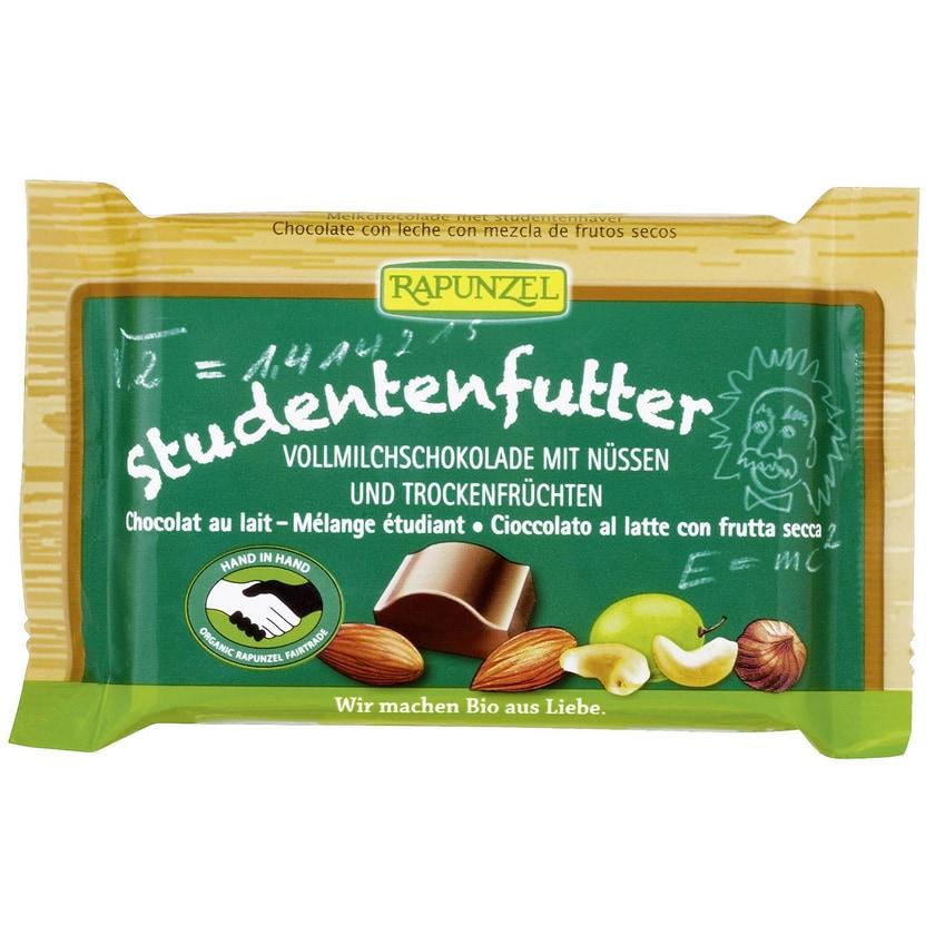 Rapunzel Bio Studentenfutter Schokolade 100g