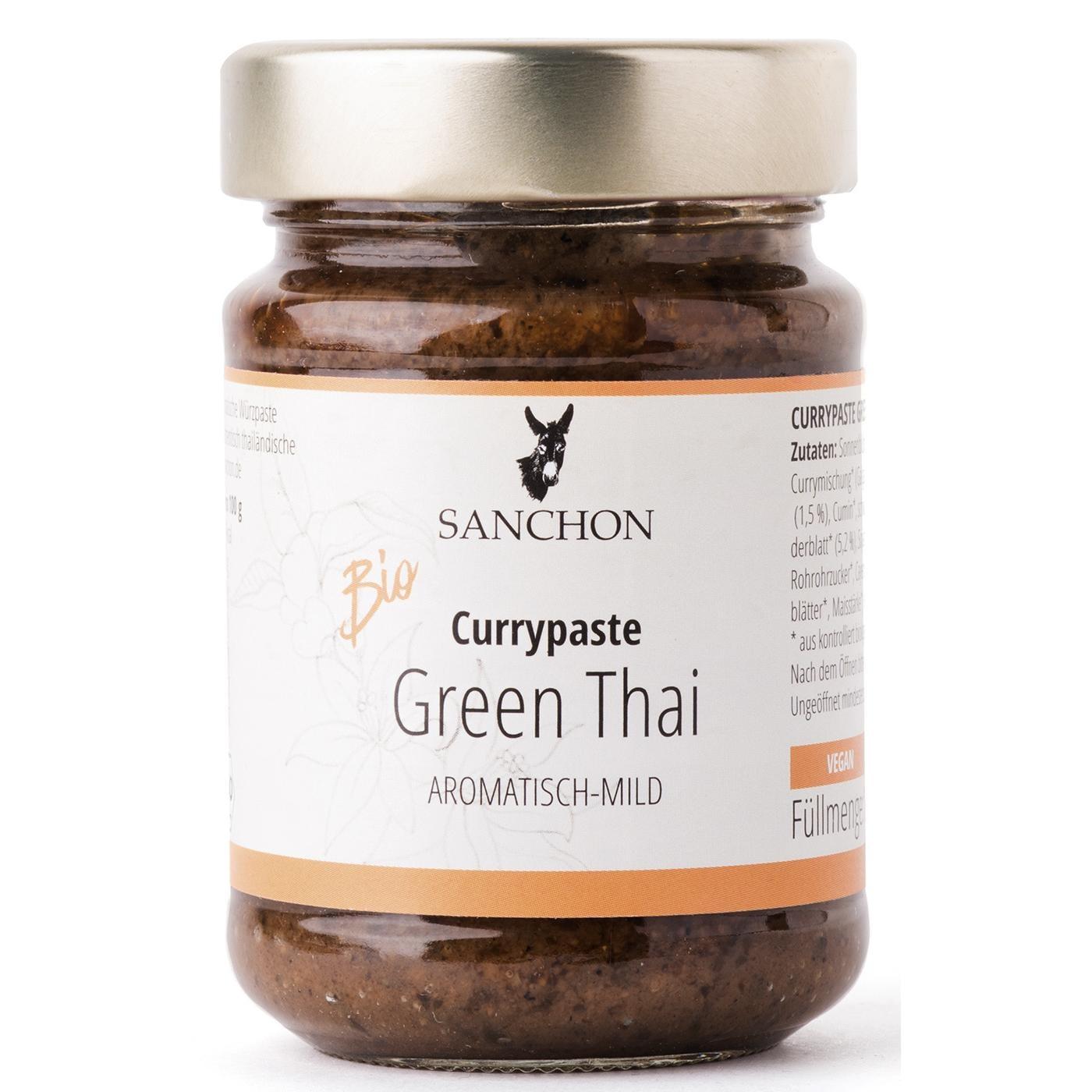 Sanchon Bio Currypaste Green Thai 190g