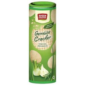 "Rosengarten Bio Gemüse Cracker ""Fenchel-Rosmarin"" 80g"