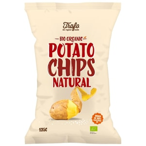 Trafo Bio Kartoffelchips gesalzen 125g