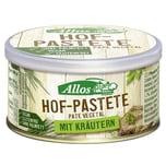 Allos Bio Hof-Pastete Kräuter 125g