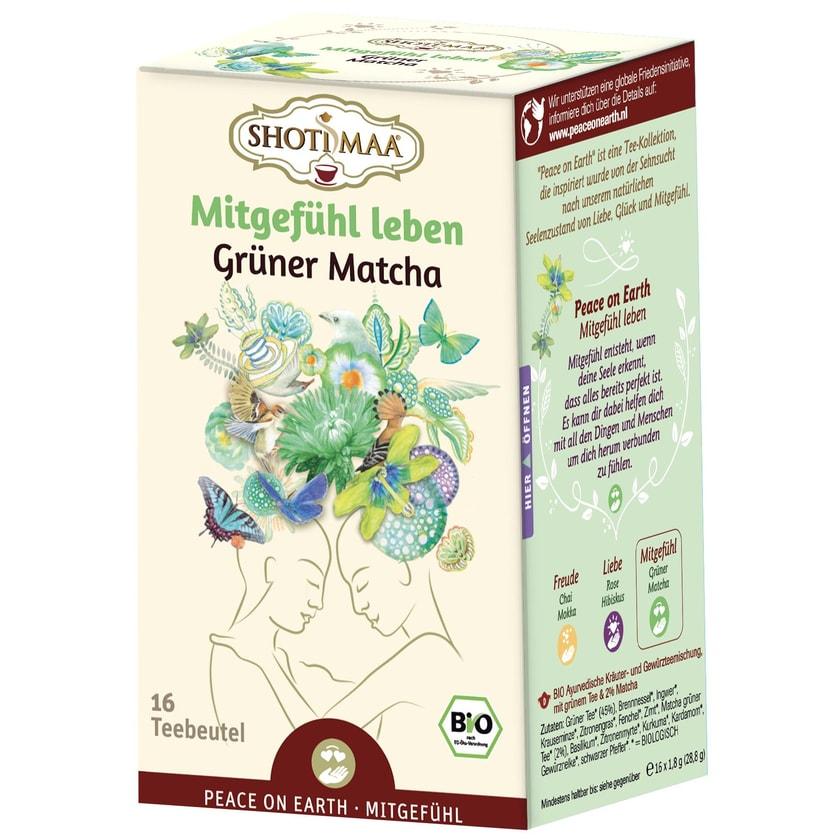 Hari Tea Bio Peace on Earth Teemischung Mitgefühl leben süßer Matcha 28,8 g